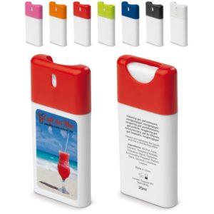 Disinfettante per pulire le mani con 62% di alcohol, personalizzabile con logo aziendale