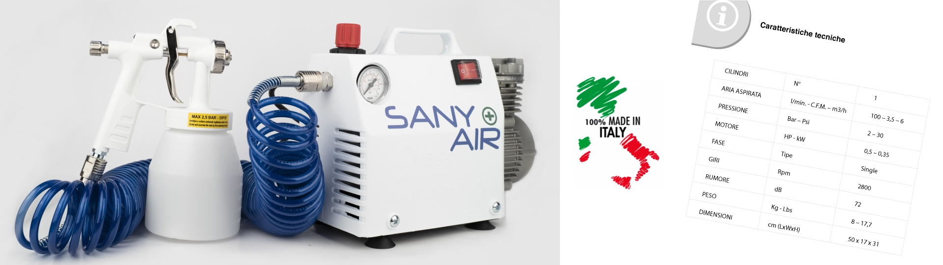 nebulizzatore sany air