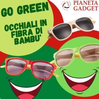 ...scegli i nostri occhiali in fibra di bambu' completamente personalizzabili...😎...chiamaci per un preventivo!!!! www.pianetapromotion.it #gogreen #occhialipersonalizzati #gadget #gadgetpersonalizzati